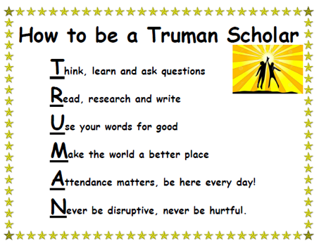 How to Be a Truman Scholar