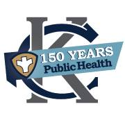 Kansas City Health Dept. logo 150 years in public health